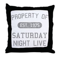 Property of SNL Throw Pillow