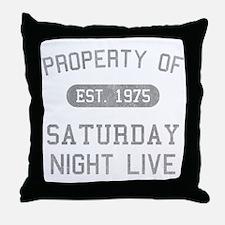 Property of SNL Throw Pillow