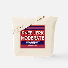Knee Jerk Moderate Tote Bag