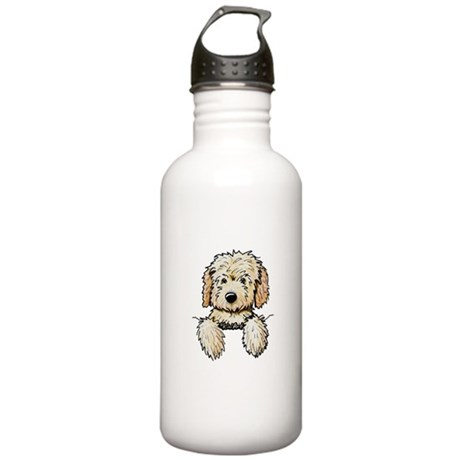 Pocket Doodle Pup Stainless Water Bottle 1.0L