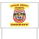 Navajo County Sheriff Yard Sign