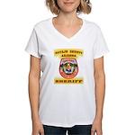 Navajo County Sheriff Women's V-Neck T-Shirt