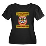 Navajo County Sheriff Women's Plus Size Scoop Neck