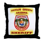 Navajo County Sheriff Throw Pillow