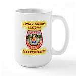 Navajo County Sheriff Large Mug