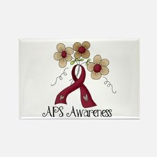 APS Awareness Rectangle Magnet