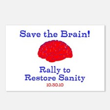 Save the Brain! Postcards (Package of 8)