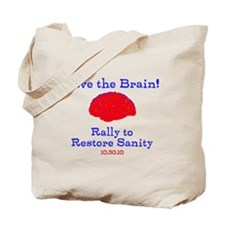 Save the Brain! Tote Bag