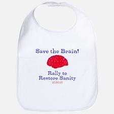 Save the Brain! Bib