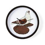 Silesian Swallow Pigeon Wall Clock