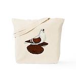 Silesian Swallow Pigeon Tote Bag