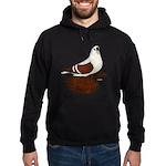 Silesian Swallow Pigeon Hoodie (dark)