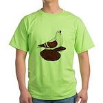 Silesian Swallow Pigeon Green T-Shirt