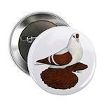 "Silesian Swallow Pigeon 2.25"" Button"