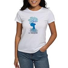 2-TOHBlueWomanNoMeansNo T-Shirt
