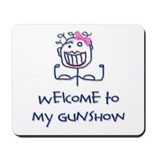 Welcome girl Mousepad