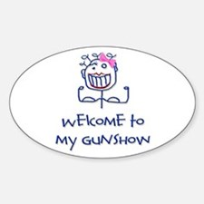 Welcome girl Decal