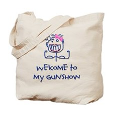 Welcome girl Tote Bag