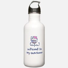 Welcome girl Water Bottle