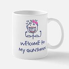 Welcome girl Mug