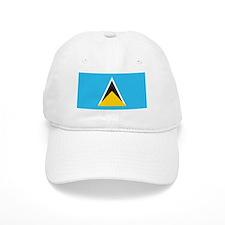 St. Lucia Flag Baseball Cap