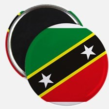 "St. Kitts and Nevis Flag 2.25"" Magnet (10 pack)"