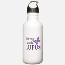 Living with Lupus Water Bottle