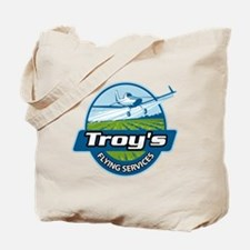 Troy's Flying Services Tote Bag