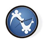 Pinguy OS Wall Clock
