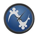 Pinguy OS Large Wall Clock