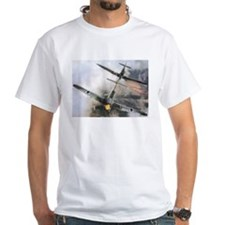 Spitfire Chasing ME-109 Shirt