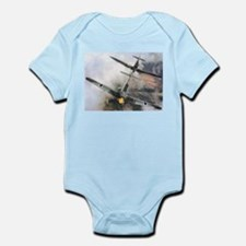 Spitfire Chasing ME-109 Infant Creeper