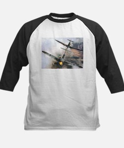 Spitfire Chasing ME-109 Tee
