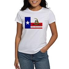 Dont Tread on Me Texas Flag Tee