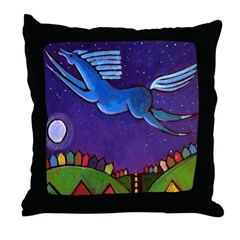 Fly Free from Normal Throw Pillow