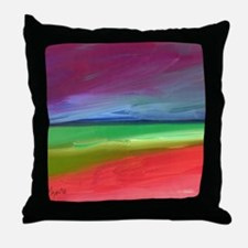 Cute Artists for a pristine planet Throw Pillow