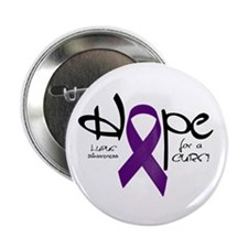 """Hope - Lupus 2.25"""" Button (10 pack)"""