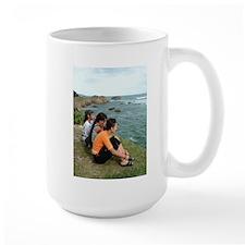 Three Girls by the Sea Mug
