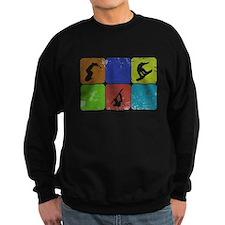 Snowboarding Vintage snowboarder Sweatshirt
