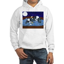 Hot Tub Japanese Chins Hoodie