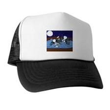 Hot Tub Japanese Chins Trucker Hat