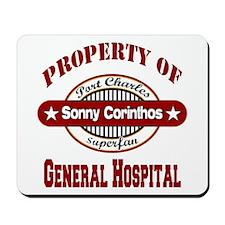 Property of Sonny Corinthos Mousepad