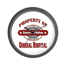 Property of Sonny Corinthos Wall Clock