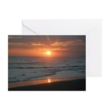 Tropical Bali Sunset Greeting Cards (Pk of 20)
