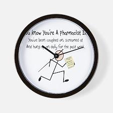 Pharmacist II Wall Clock
