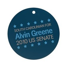 South Carolinian for Greene Ornament (Round)