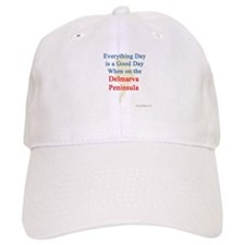 Every Day is a Good Day Baseball Baseball Cap