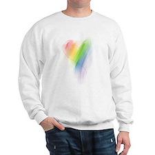 Rainbow Heart Jumper
