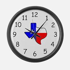 Texas Large Wall Clock