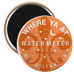 Where Ya At Water Meter Magnet